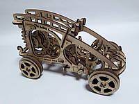 Конструктор Деревянный Механический 3Д Багги в коробке 51 дет. 14+ Wood Trick Украина