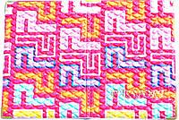 Обложка на паспорт «Ералаш-Абстракция» цвет розовый фон