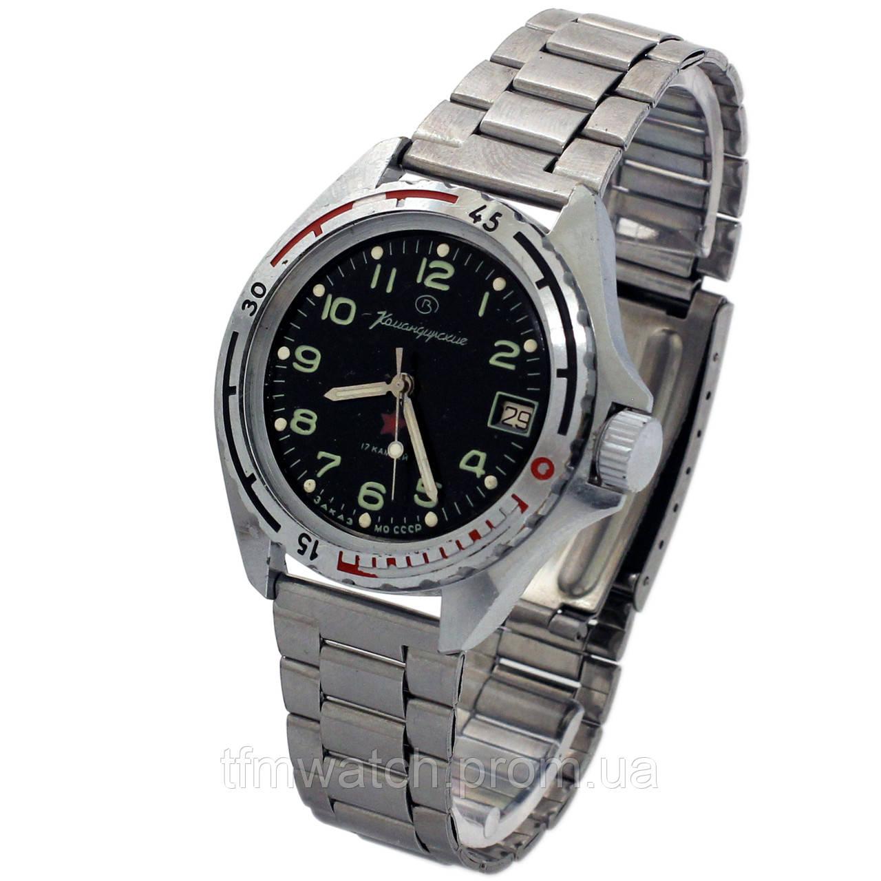0e115df7 Командирские часы 17 камней заказ МО СССР - Магазин старинных, винтажных и  антикварных часов TFMwatch