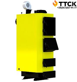 Стальной твердотопливный котел длительного горения KRONAS UNIC NEW мощностью 17 кВт