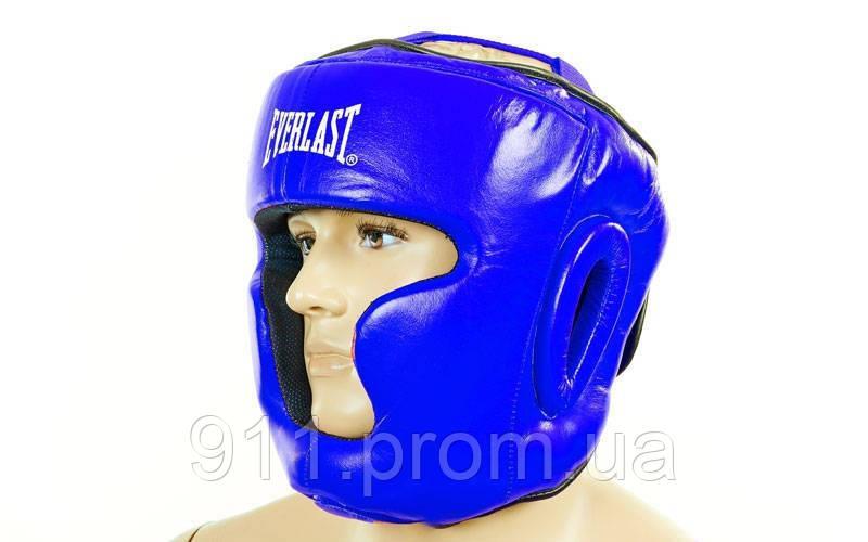 Шлем боксерский с полной защитой Everlast ZB-5007E