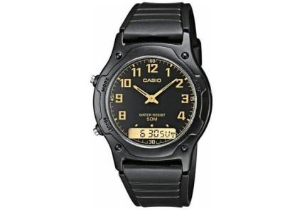 Мужские наручные часы Casio aw-49h-1bvdf черные