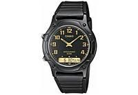Мужские наручные часы Casio aw-49h-1bvdf черные, фото 1