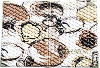 Обложка на паспорт «Ералаш-Абстракция» цвет бело-бежевый