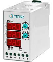 Реле контроля фаз купить устройство защиты 3-х фазного электродвигателя микропроцессорные DIN+ винты цена