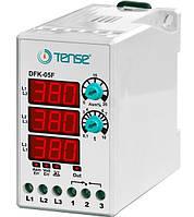 Реле контроля фаз устройство защиты 3-х фазного электродвигателя микропроцессорные DIN+ винты купить цена