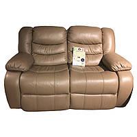 """Двухместный кожаный диван  """"Mark"""""""