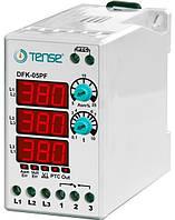 Реле контроля фаз устройство защиты 3-х фазного электродвигателя микропроцессорные, без нейтрали цена купить