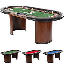 Покерный стол, игровой стол - покер Nevada De Luxe, фото 2