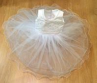 Нарядное платье для маленькой принцессы. Размер 4-5