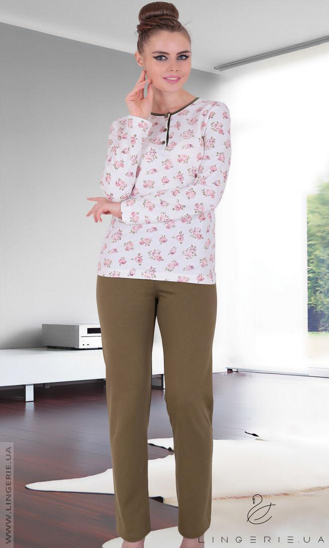 Жіноча байкова піжама Sabrina T-45098
