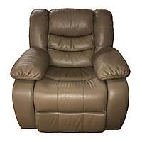 """Кожаное кресло """"Mark"""" с реклайнером"""