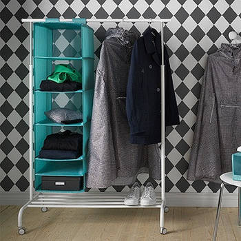 Стелажи хранение одежды