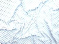 Ткань плюш Minky отрез 100*80 см белый