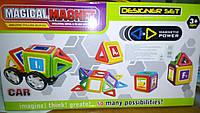 Магнитный 3D конструктор  +наклейки A10-24P *** ***