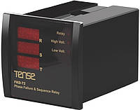 Реле контроля фаз устройство защиты 3-х фазного электродвигателя микропроцессорные щитовой цена купить в Киеве