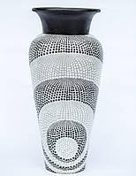 Ваза напольная в крапинку, 60 см