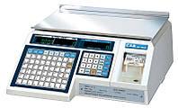 Весы с принтером этикеток CAS-LP-15 (1.6) RS-232