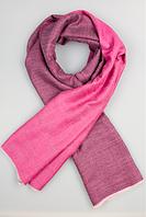 Легендарный кашемировый шарф Chadrin фиолетовый/розовый, фото 1