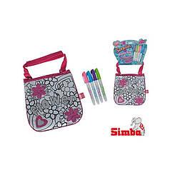 Оригинал. Мини-сумочка Color Me Mine с блестками Simba 6379148