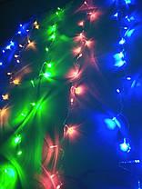 Гирлянда светодиодная Штора 240 л. LED (8 режимов) 3x1.4 м , фото 3