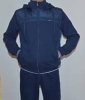Мужской утепленный спор костюм AVIС3948 c капюшоном(XL-3XL)