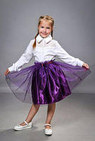 Детская пышная юбка для девочки