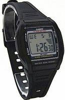Мужские наручные часы Casio w-201-1avef черные, фото 1
