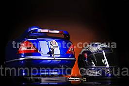 Кофр Мерседес с шлемом синяя (с проводкой)