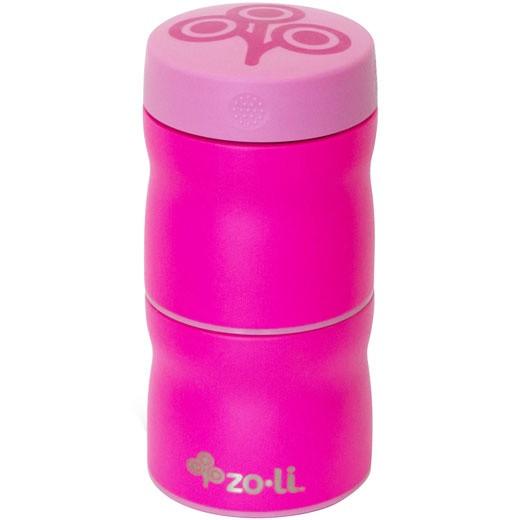 Термос для еды 2 отделения POW THIS & THAT Pink - ZOLI