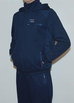 Мужской утепленный спор костюм AVIС3433 c капюшоном(2XL), фото 2