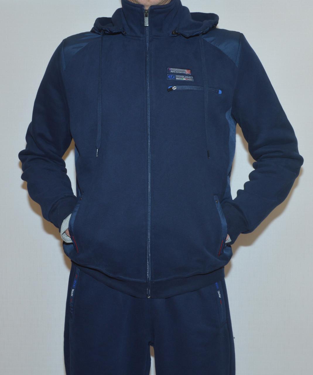 Мужской утепленный спор костюм AVIС3433 c капюшоном(2XL)