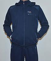 Мужской утепленный спор костюм AVIС3433 c капюшоном(L-3XL)