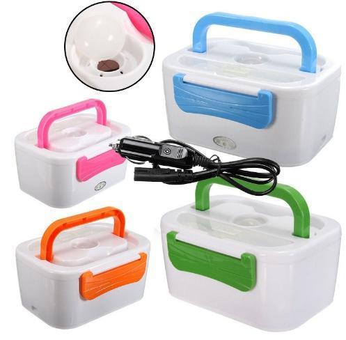 Автомобильный ланч-бокс с подогревом от прикуривателя 12 Вт. The electric lunch box, термос для еды