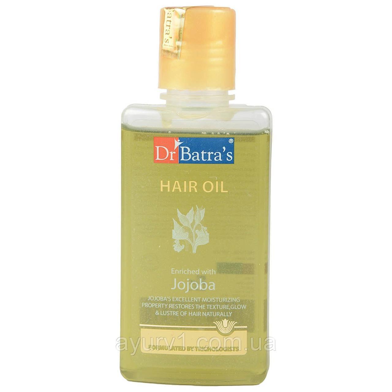 Масло для волос Жожоба Др. Батра  / Hair oil with Jojoba Dr.batra / - 200 мл.