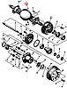 Штифт цилиндрический 8п6х25-1 БДС 1980-77 205265 Балканкар ДВ1792