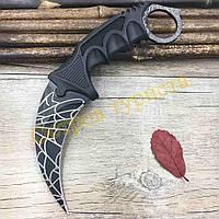 Нож керамбит Black Web, фото 1
