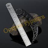 Нож керамбит Black Web, фото 2