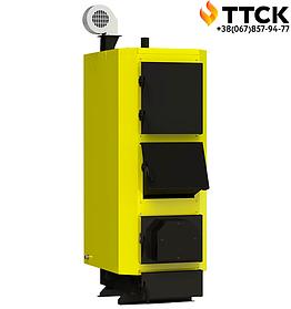 Стальной твердотопливный котел длительного горения KRONAS UNIC P мощностью 22 кВт
