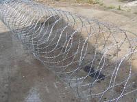 Колючая проволока (Егоза)Спиральный барьер безопасности d-900 (5 скоб)