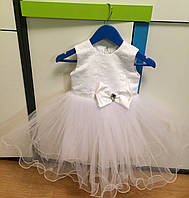 Нарядное платье для маленькой принцессы. Размер 2-3.