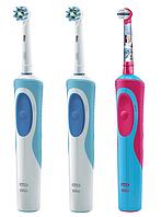 Набор для всей семьи 2 зубных щетки Vitality, 1 щетка для девочки