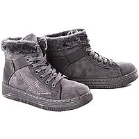 Ботинки Zoom AB189 Серые Gray (36-40)