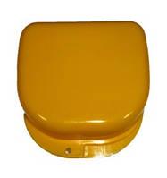 Коробка для ортодонтических и ортопедических конструкций, без отверстий. Цвет желтый T-B-6