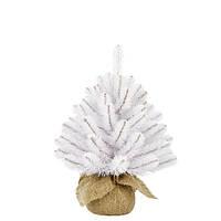 Елка исскуственная Rainer белая, 0,45 м, Triumph Tree Edelman®