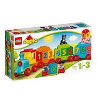 Детский конструктор Lego Duplo Поезд с цифрами