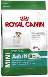 Корм для собак Royal Canin (Роял Канін) MINI ADULT 8+ для дрібних порід старше 8 років, 800г