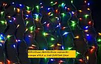 Новогодняя светодиодная гирлянда-штора 4*0,5 м 140 CURTIAN Color