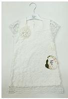 Нарядное гипюровое платье для девочек,р.92-110, Lilax