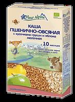 Каша детская молочная пшенично-овсяная груша + яблоко Fleur Alpine